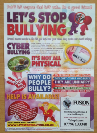 Prevent your child from being a victim of the bullies