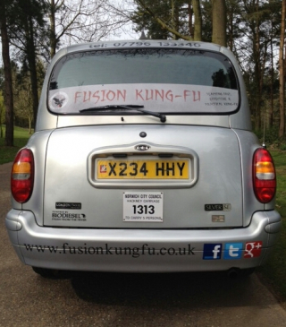 Have you spotted our taxi in Norwich yet?